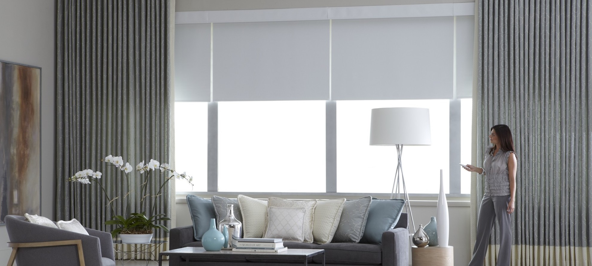 motorized shades and blinds in boston shades in place